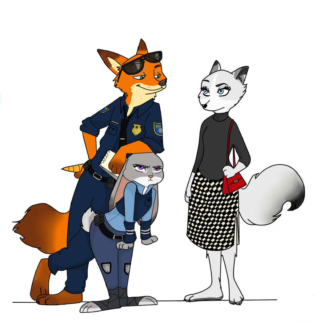 Zootopia Fanfic: A Tale Of Two Tails: Nick Wilde X Reader