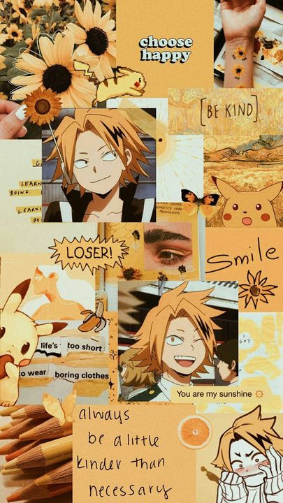 Bnha Wallpapers Denki Kaminari Wattpad