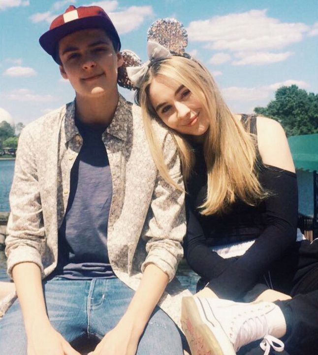 Former Girl Meets World co-stars Beatrice 'Bea' Ackles and Corey Fogelmanis, pictured above, were rumored to have been dating for almost two years, both during and after filming for their show