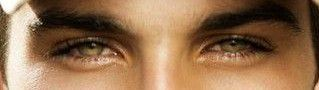 His eyes (picture below) are really the one that stop me really and that's saying something when mine are a greenish-blue