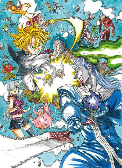 Mecha:As you may remember, some time ago I said that I wanted to write a special about the movie of the seven deadly sins when it comes out
