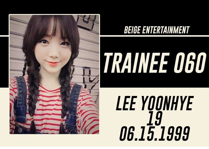 FULL NAME: Lee Yoonhye