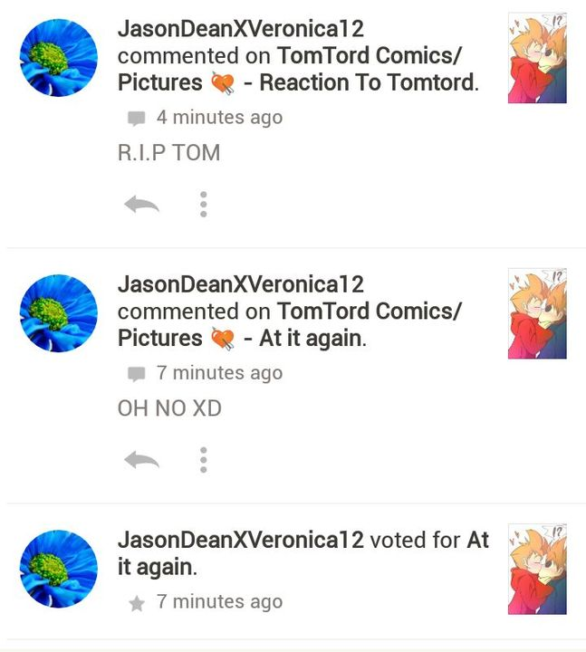 TomTord Comics/Pictures 💘 - Shoutout #1 Thanks For Reading