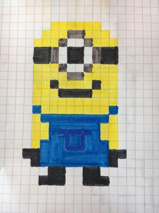 Pixel Art Minion Wattpad