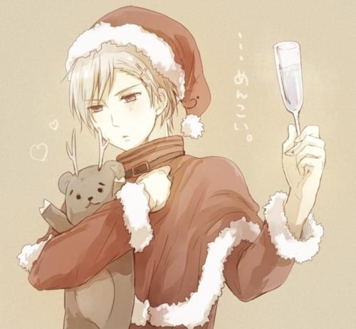 Hetalia x Reader - *Xmas Special* Norway x Reader - Christmas in