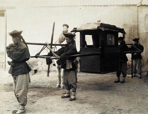 Sedan Chair vs Horse Carriage: