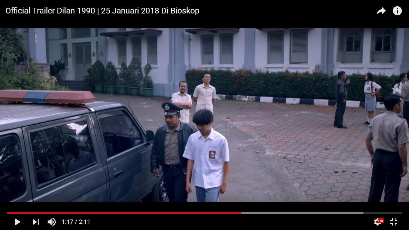 Dilan Scene 12 Ke Kantor Polisi Wattpad