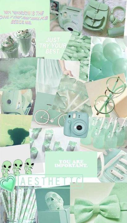 25 inspirasi keren background hijau tosca aesthetic