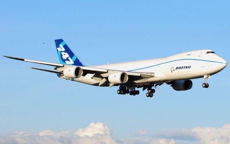 Chiếc máy bay Boeing 747-8