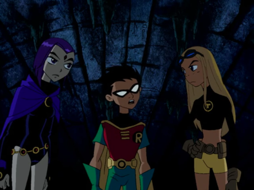 Pictures Of The Teen Titans - Raven, Beast Boy,  Terra -4411