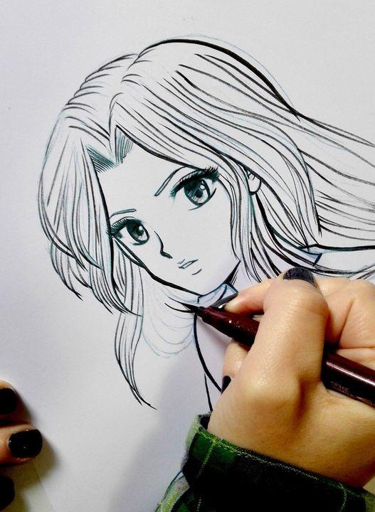 In Classe Con I Manga Creare Ottimi Disegni Al Tratto