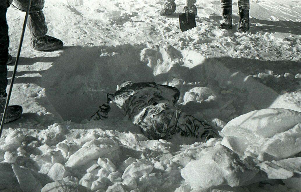 Het ravijn lag op ongeveer 75 meter van de plaats waar de eerste twee slachtoffers werden gevonden