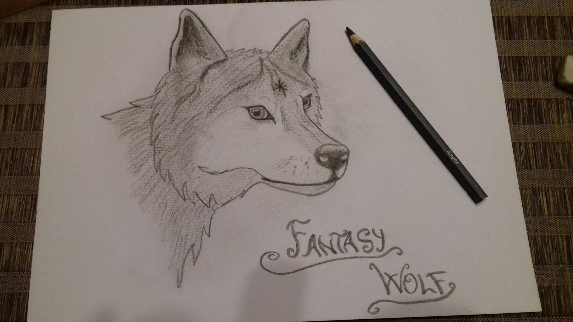 Moje Kresby Fantasy Wolf Wattpad