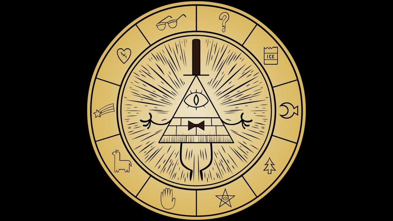 zodiaco signos como s237mbolos de la rueda de bill cipher