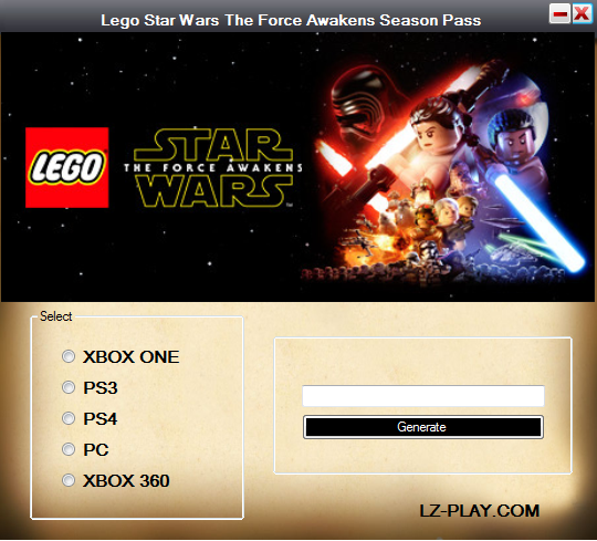 Lego Star Wars The Force Awakens Season Pass Code Download