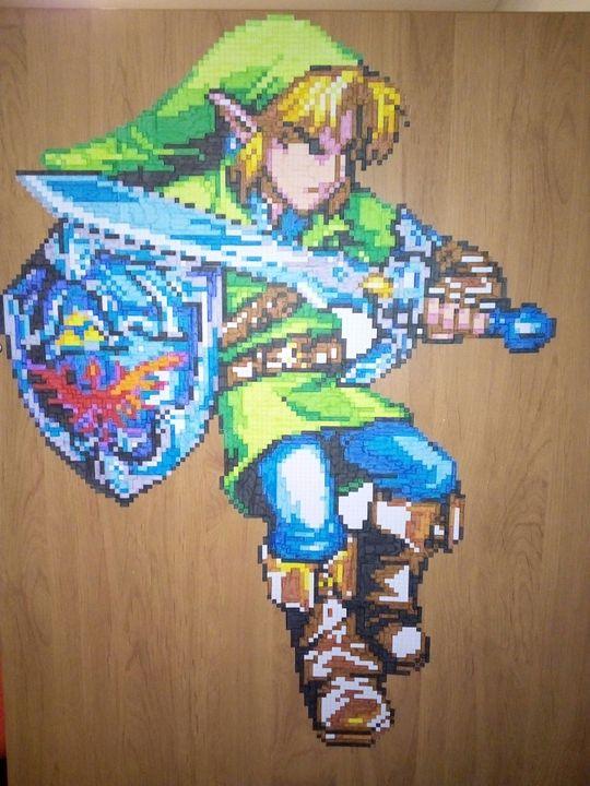Ma Galerie De Dessins Link The Legend Of Zelda Oot Pixel