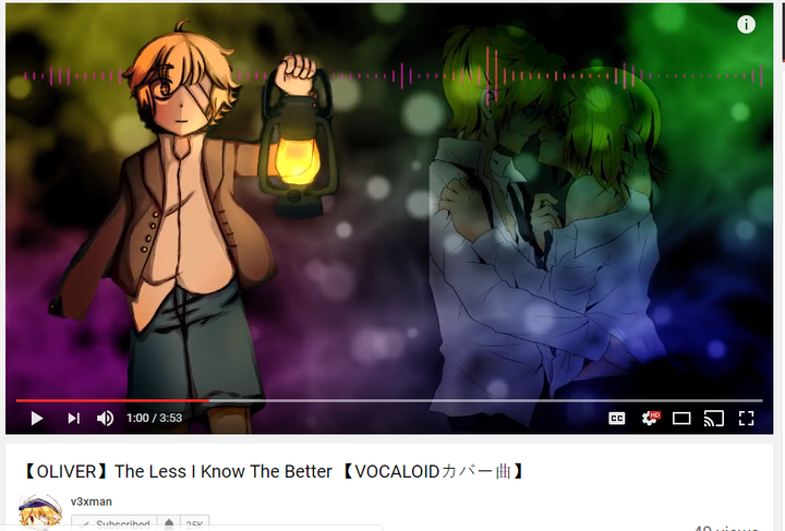 v3xman's got that Leniver going on in his new vid