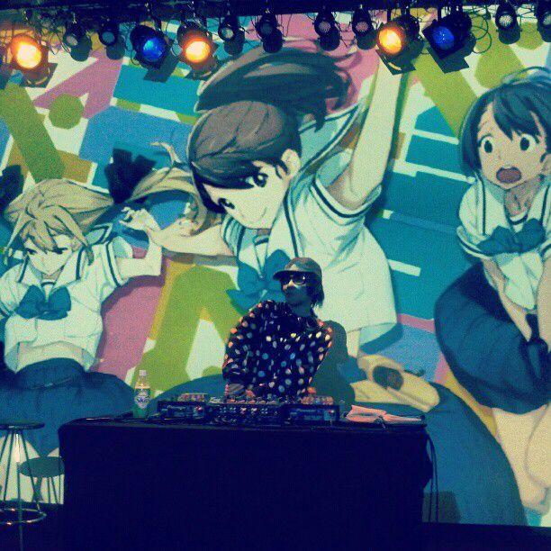 "DJ and Anison (""Anime Song"") remix artist BoyPanda at 2"