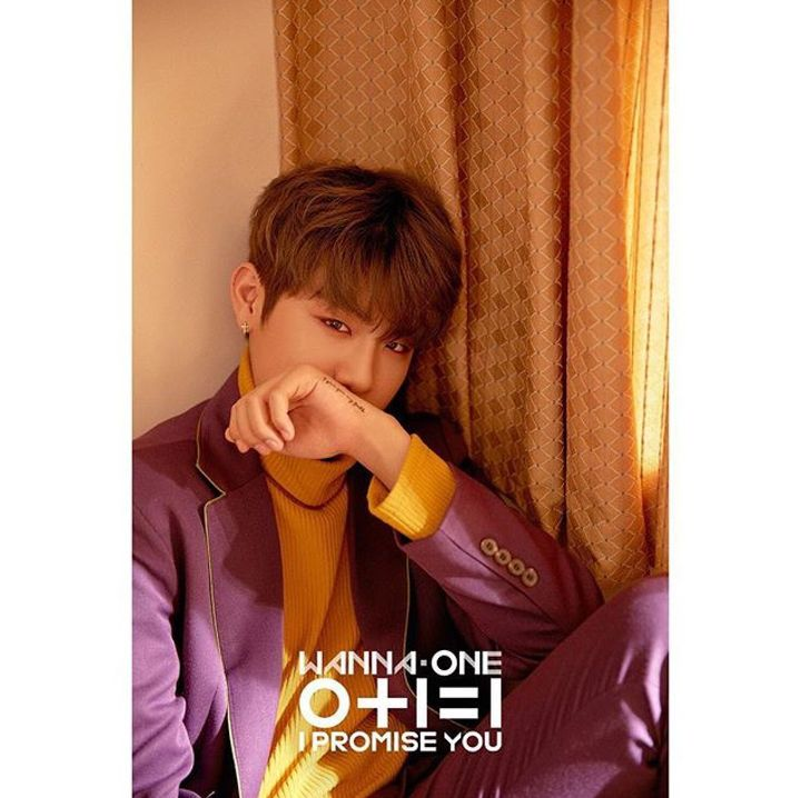 Wanna One Book Pt 5 On Going I Promise You Park Woojin Day Ver