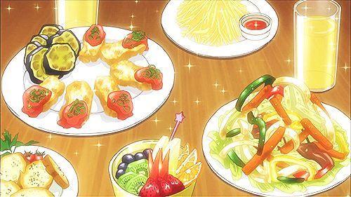 -Wow Sebastian, esta vez te pasaste- dijo viendo su comida maravillada
