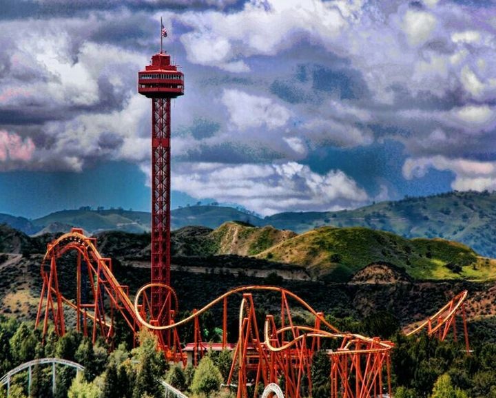 Candel Six Flags babess!!
