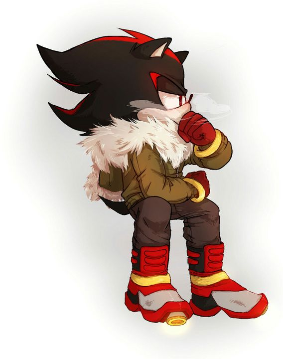 Shadow The Hedgehog x Reader One-Shots - [Lemon] Stressed