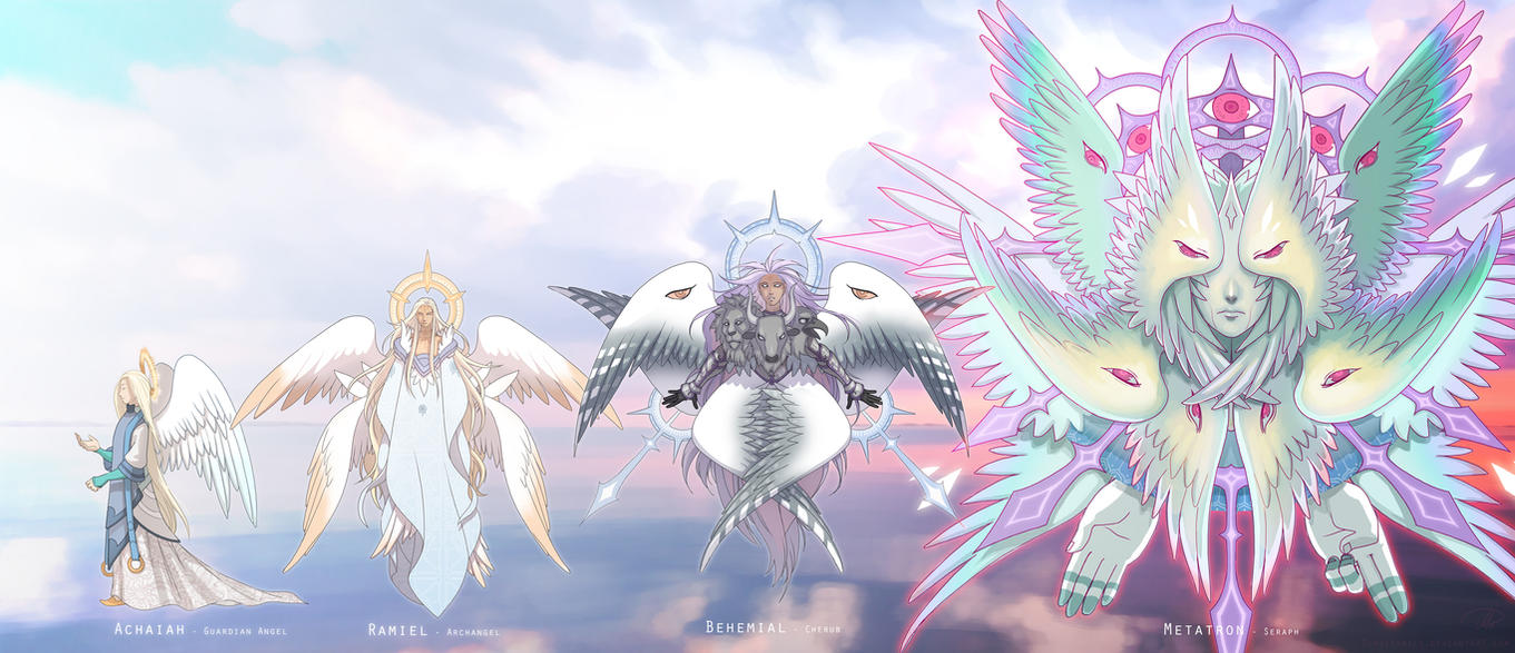 Big List of Names and their Meanings - Angelic hierarchy