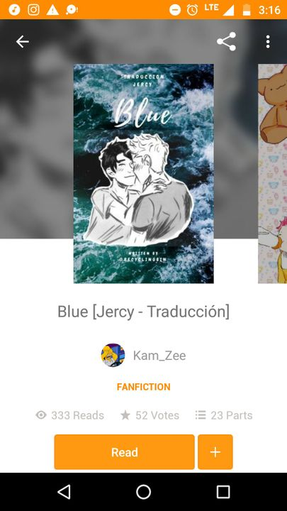 the amazing @Kam_Zee translated Blue into Spanish!! I'm sorry for not shouting you out earlier!!!
