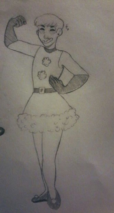 This is the best I could right now, I might have some better Christmas drawings later, but I don't know