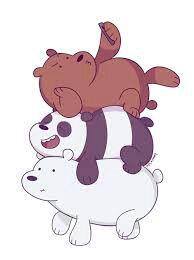 خلفيات الدببة الثلاثة وهم صغار Doted24 Blogspot Com
