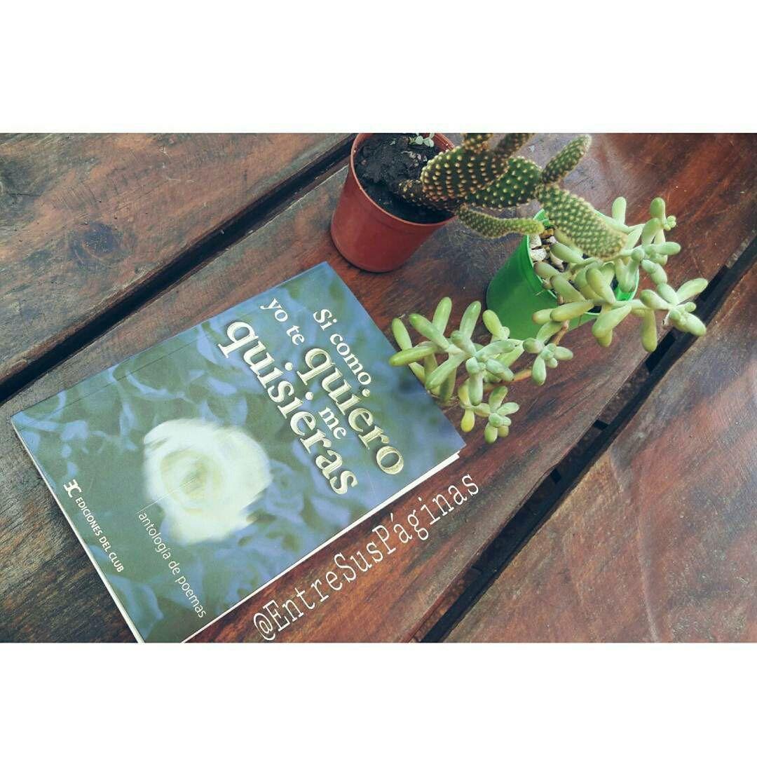 ♡ Bueno hoy les traigo un libro de poemas, llamado #SiComoYoTeQuieroMeQuisieras, #AntologíaDePoemas