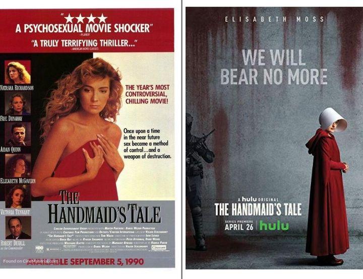 Y hablo de casi treinta años atrás, miren estas imágenes, el poster de antes y de ahora, y me dicen qué tal estamos avanzando: