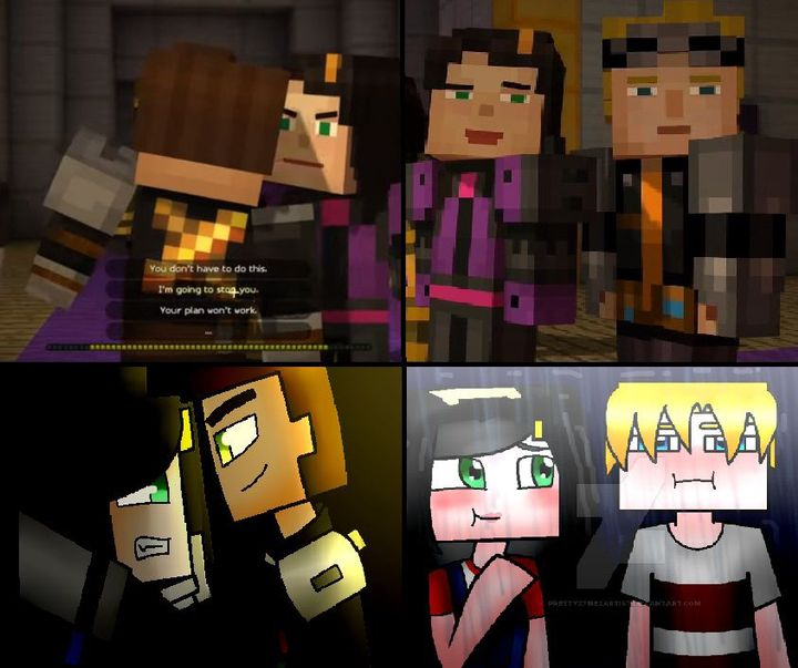 My Book Of Shipping Minecraft Story Mode My Opinions Lukas