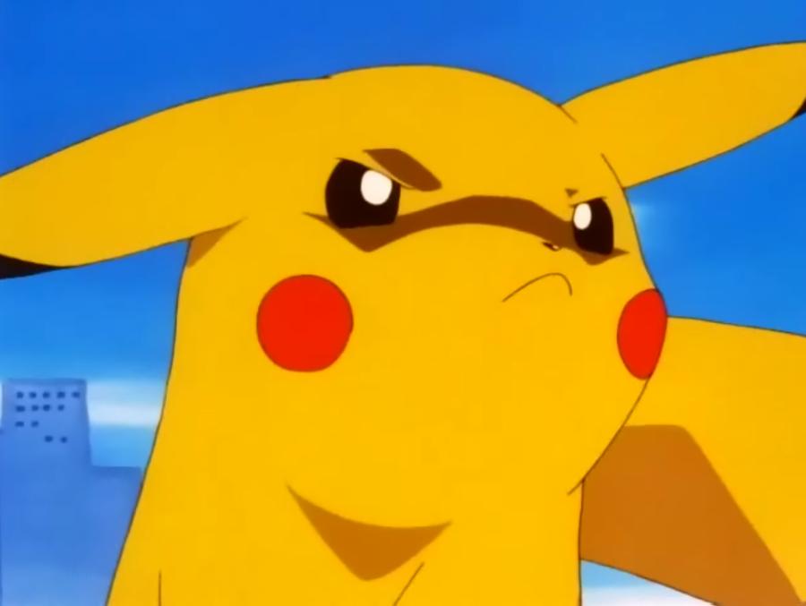 Resultado de imagen para pikachu molesto