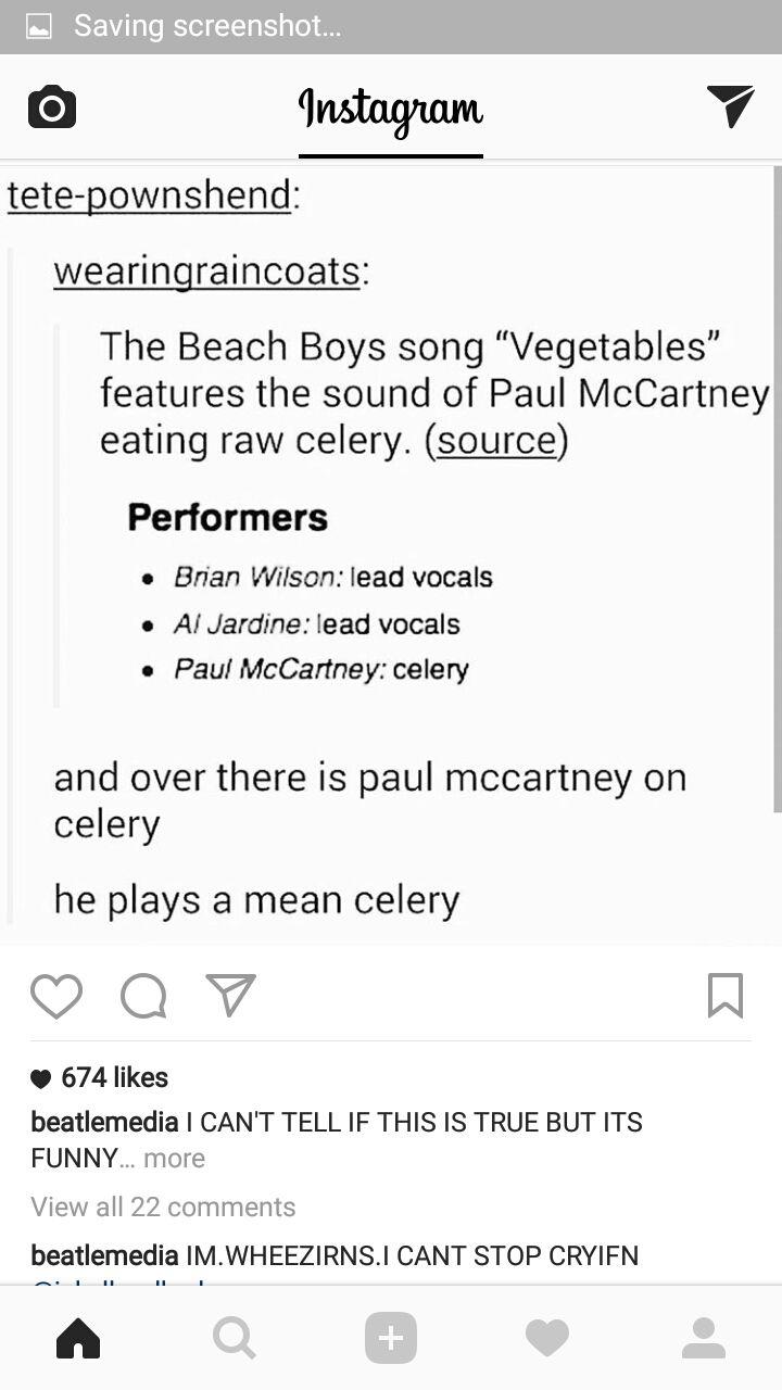 Any new celery sex vedics