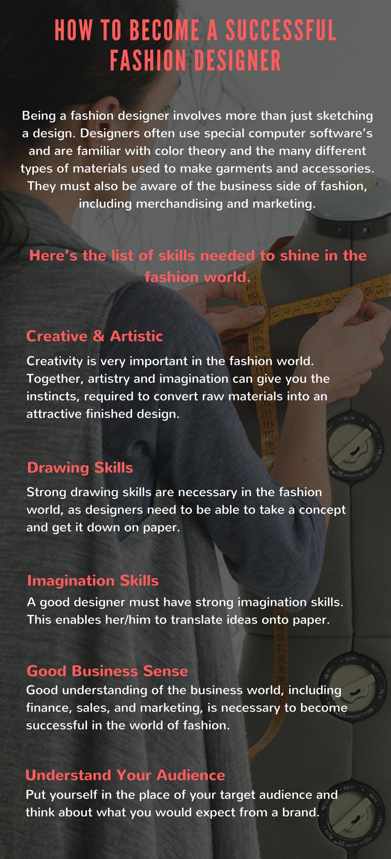 Odeta Rose France Skills Needed To Be A Fashion Designer Odeta Rose Wattpad