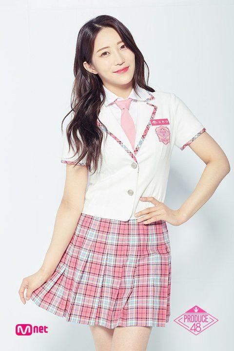 Produce 48: Profiles [P101 S3] - 39  Kim Hyun Ah ☆ Collazzo