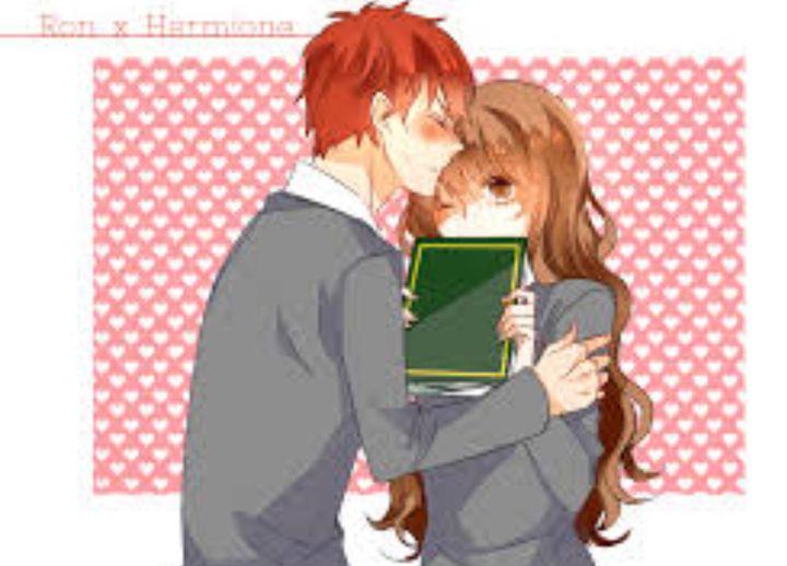 Harry Potter Ships Fan Art Ronmione Ron X Hermione Wattpad