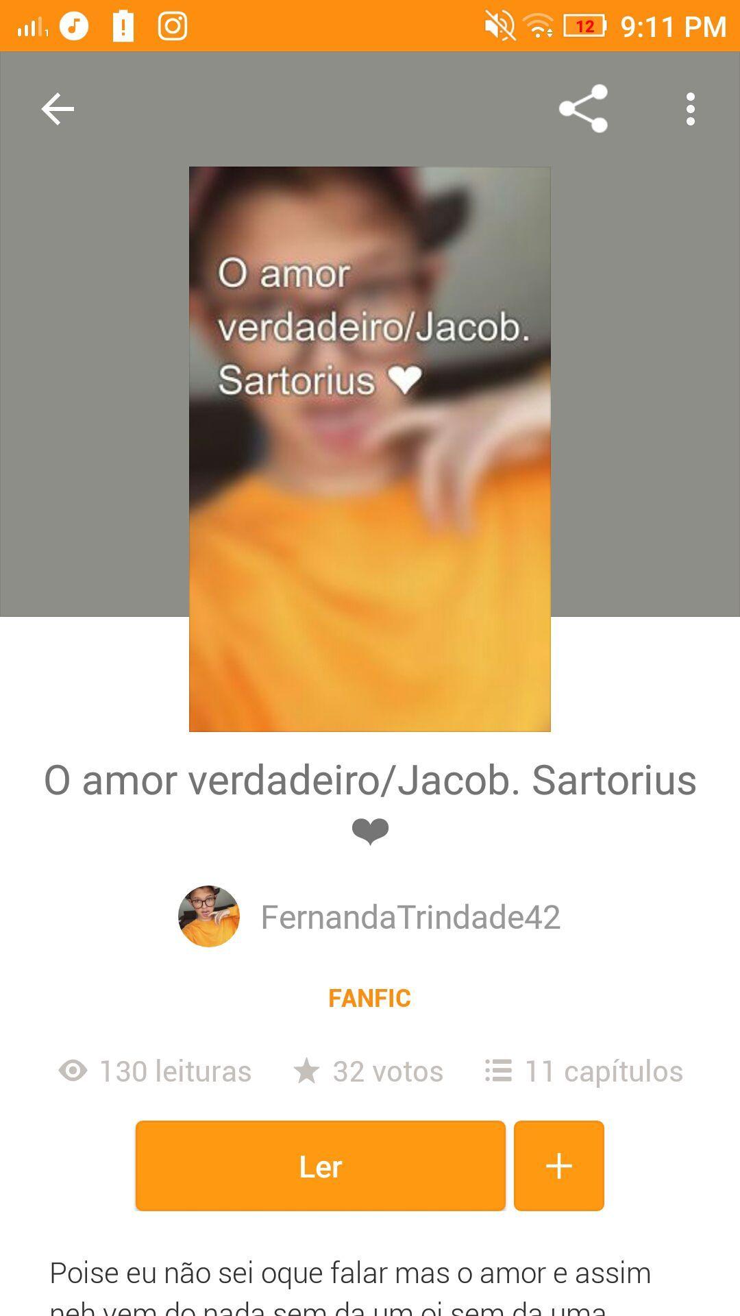O Amor Verdadeiro/Jacob Sartorius ❤FernandaTrindade42