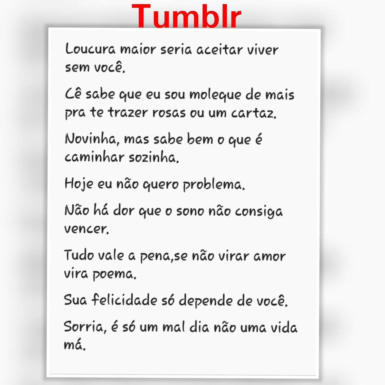 Tag Indiretas De Amor Para O Crush Tumblr