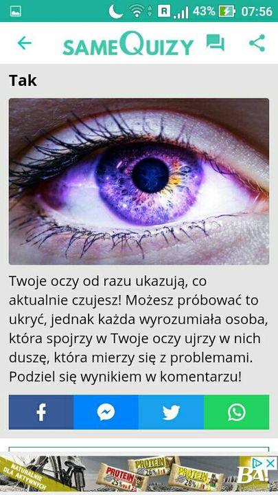 Samequizy Czy Oczy Zdradzają Twoje Emocje Wattpad