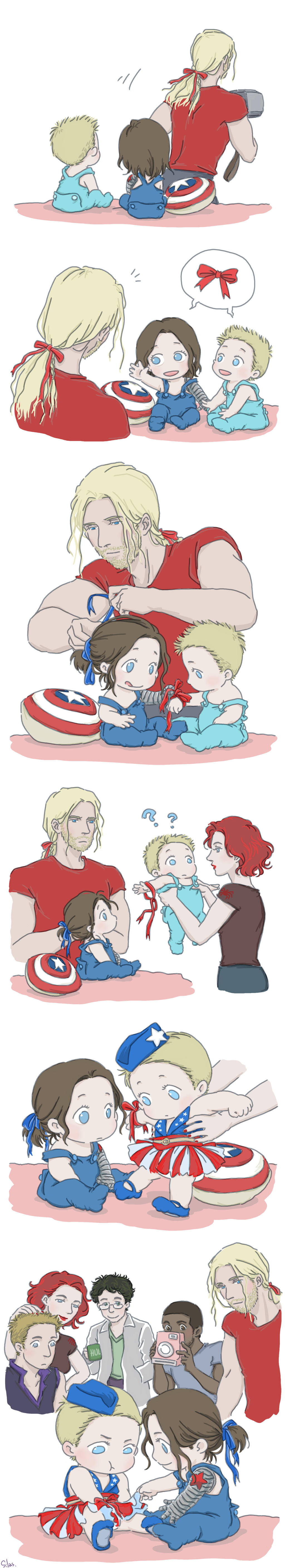 Avengers Imagines - Steve and Bucky|Babies - Wattpad