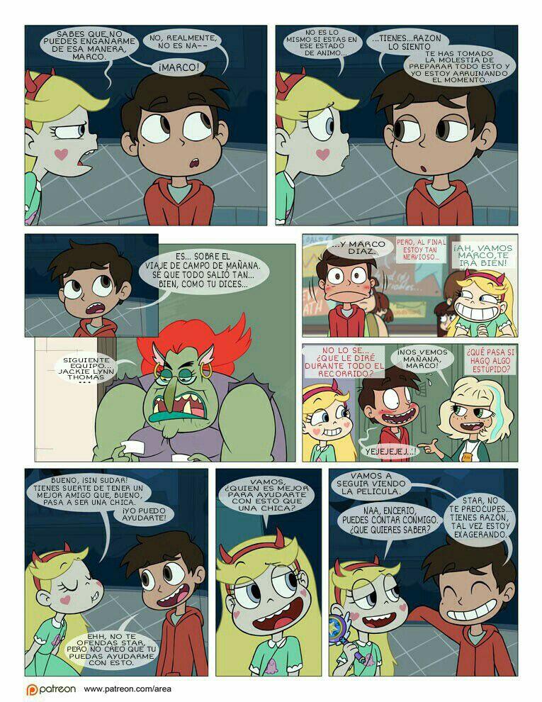 Starco Comic Entre Amigos +18 - #3 - Wattpad