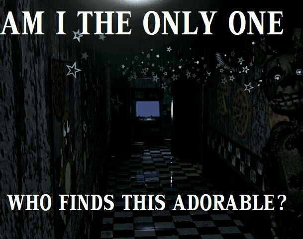 """""""Sometimes when I need a jumpscare to wake me up"""" Luna states"""