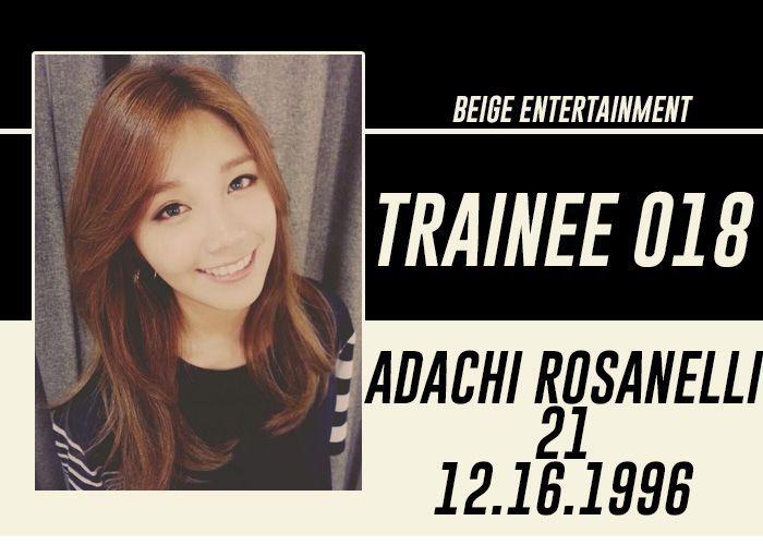 FULL NAME: Adachi Rosanelli