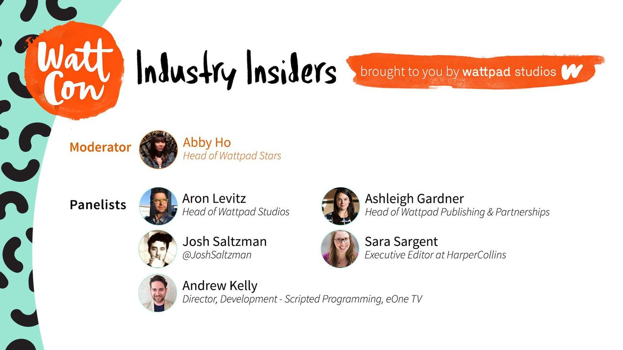 Panelists: Aron Levitz, Ashleigh Gardner, Josh Saltzman, Sara Sargent, Andrew Kelly
