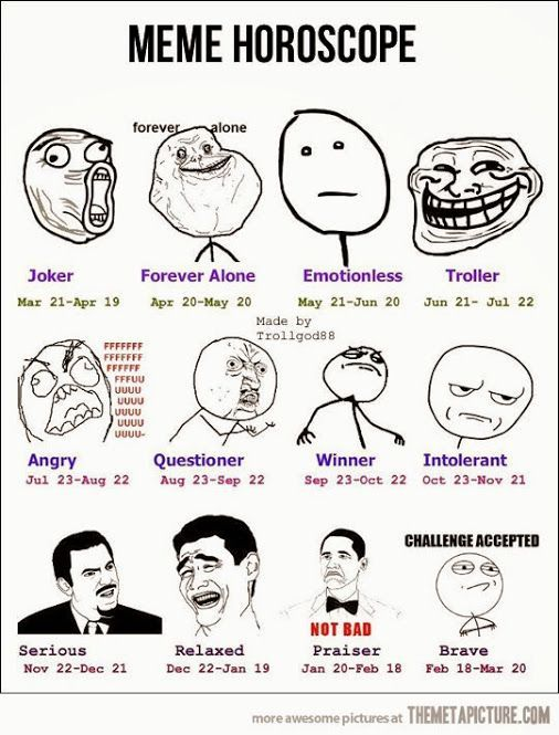 zodiac signs - Meme Horoscope - Wattpad