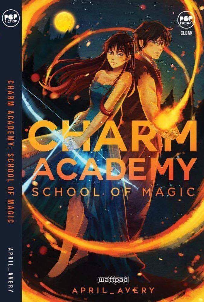 Charm Academy book version is now officially published under Cloak Pop Fiction!