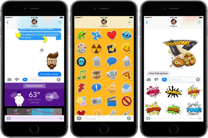 If you still have a dollar or two left in store credit after working through this lift, elevate your iMessage game with some sticker packs