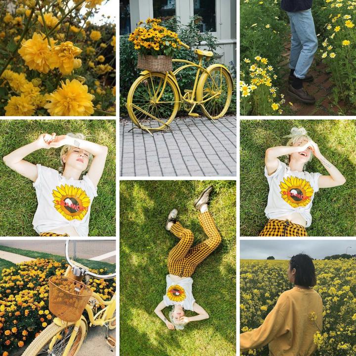 Band Aesthetics Hayley Williams Flower Green Yellow Wattpad